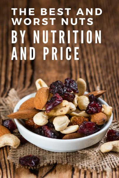 The Best and Worst Nuts, by Nutrition and Price