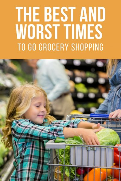 The Best and Worst Times to Go Grocery Shopping