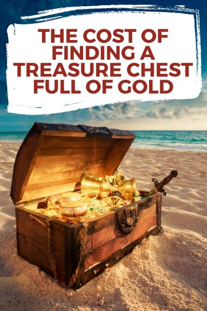 The Cost of Finding a Treasure Chest Full of Gold