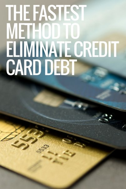The Fastest Method to Eliminate Credit Card Debt
