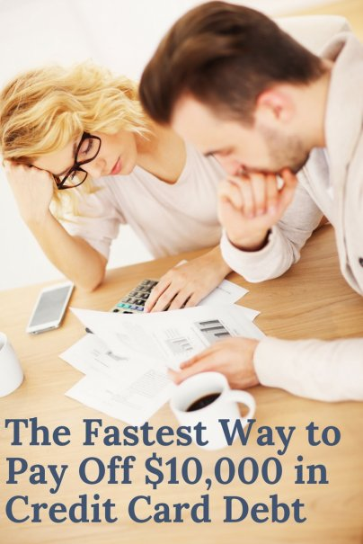 fastest   pay    credit card debt