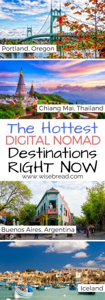 The Hottest Digital Nomad Destinations Right Now