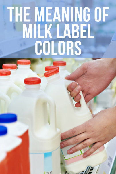 The Meaning of Milk Label Colors