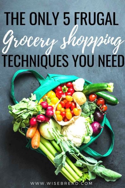 You can save money on groceries without spending more time shopping. In fact, you can probably cut down both the money you spendandthe time you spend shopping, by changing one thing: your technique. | #budgeting #shoppinghacks #frugalliving