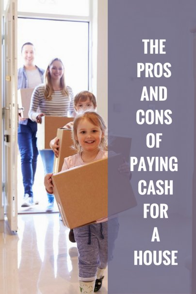 The Pros and Cons of Paying Cash for a House