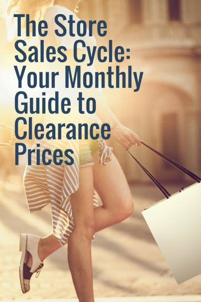 The Store Sales Cycle: Your Monthly Guide to Clearance Prices