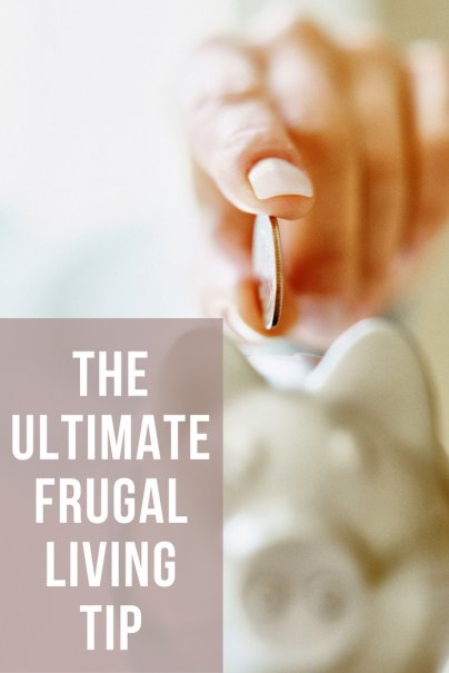 My One Favorite Frugal Living Tip