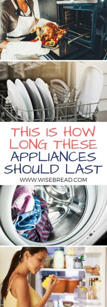 This Is How Long These 6 Appliances Should Last