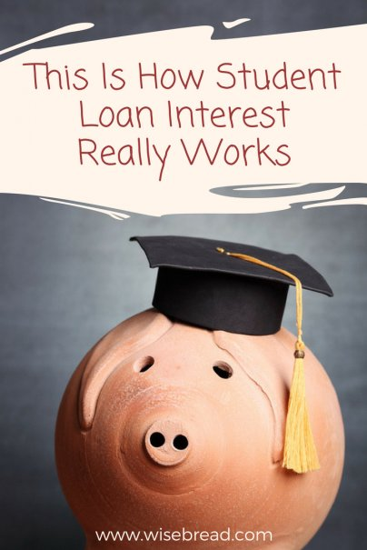 This Is How Student Loan Interest Works