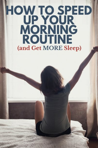 This Is How You Speed Up Your Morning Routine (and Get More Sleep)