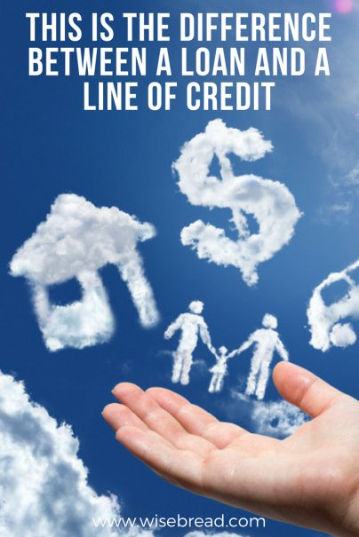 This Is the Difference Between a Loan and a Line of Credit