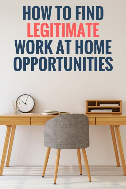 Tips for Finding Legitimate Work at Home Opportunities