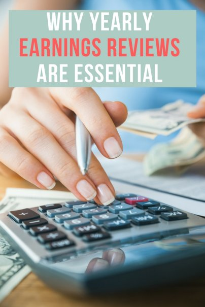 To Stay on Financial Track, Perform a Yearly Earnings Review