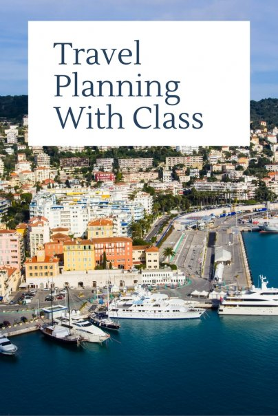 Travel Planning With Class