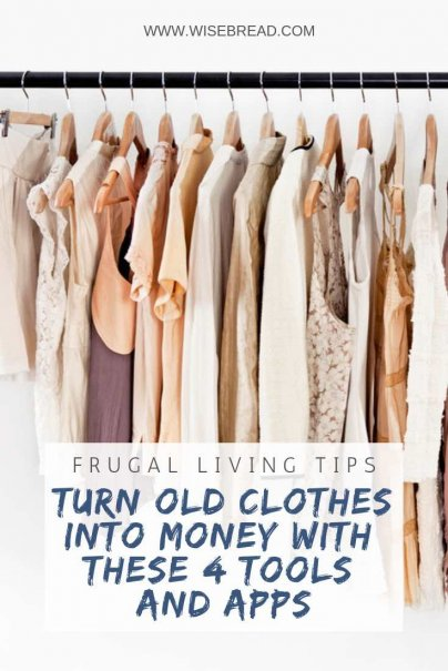 Turn Old Clothes Into Money With These 4 Tools and Apps