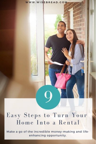 Turn Your Home Into a Rental in 9 Easy Steps