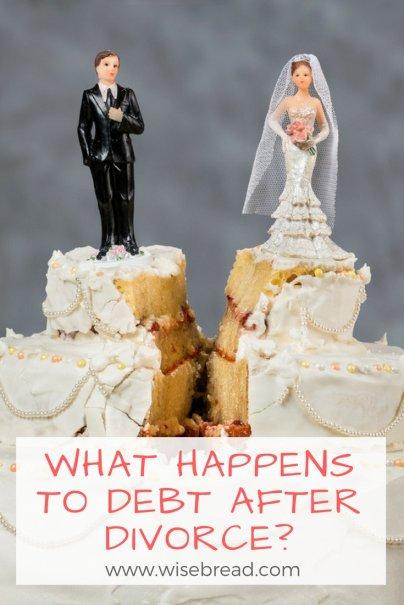 What Happens to Debt After Divorce?