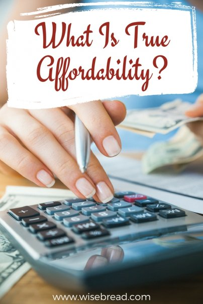 What Is True Affordability?