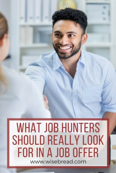 What Job Hunters Should Really Look for in a Job Offer