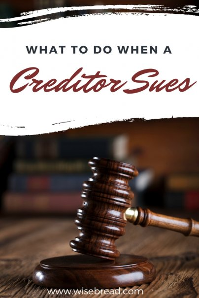 What to Do When a Creditor Sues