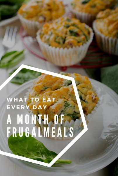 What to Eat Every Day: A Month of Frugal Meals