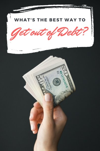What's the Best Way to Get out of Debt?