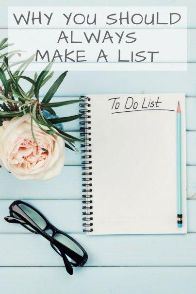 Why I Love Lists