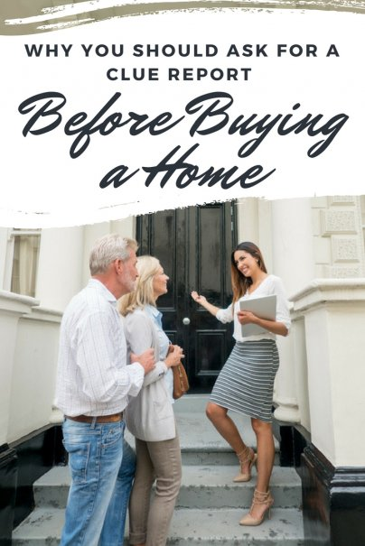 Why You Should Ask for a CLUE Report Before Buying a Home