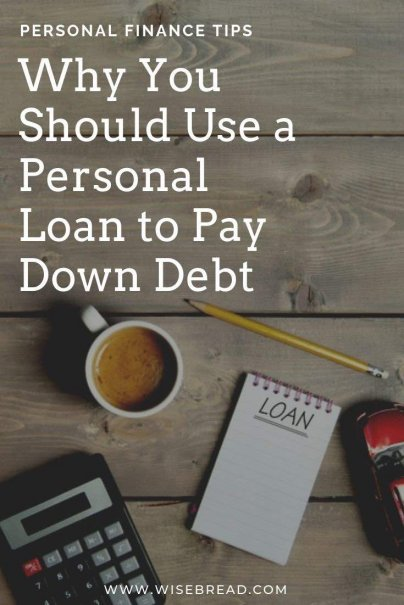 Need to payoff your debt fast? Here are the reasons you should use a personal loan to pay down debt.  | #debtadvice #moneymanagement #budgeting