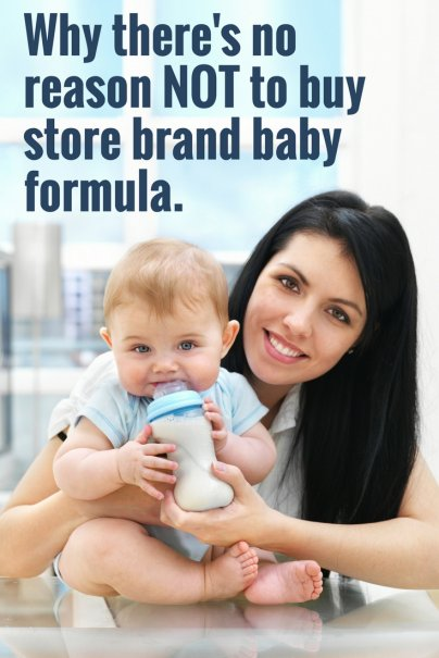 Why there's no reason NOT to buy store brand baby formula.