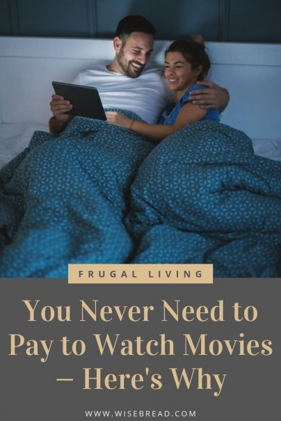 If you love to watch movies like I do, but hate spending a lot of money just to see one, bookmark this list of ways you'll never have to pay for movies again! | #cheapmovies #freemovies #frugalliving