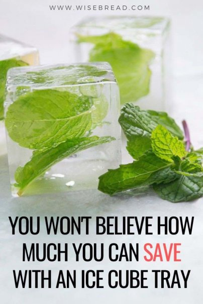 Ice cube trays are powerful kitchen tools for the home cook. They speed up prep, reduce food waste, and make portion control a cinch. Here are 17 different ice cubes you can make to save you money. | #icecubes #lifehacks #kitchenhacks