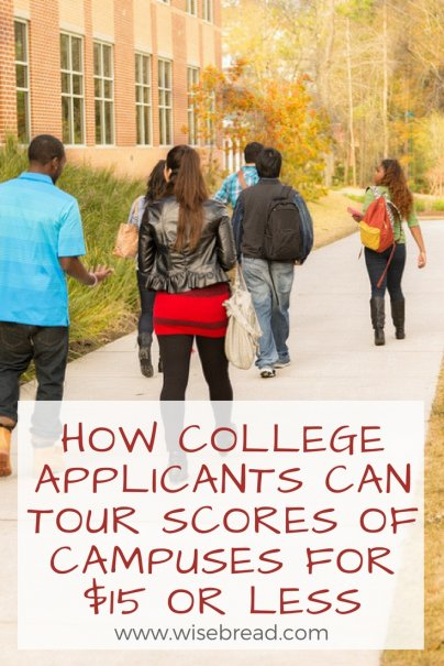 How College Applicants Can Tour Scores of Campuses for $15 or Less