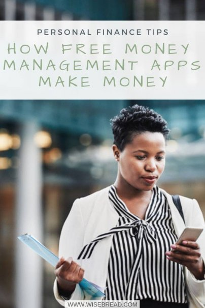 How Free Money Management Apps Make Money