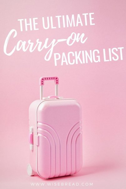 Do you want to fit your travel packing needs into carry-on luggage, regardless of whether your trip is two weeks or two months? Everything you need is in this ultimate carry-on packing list. | #travel #travelhacks #packinghacks