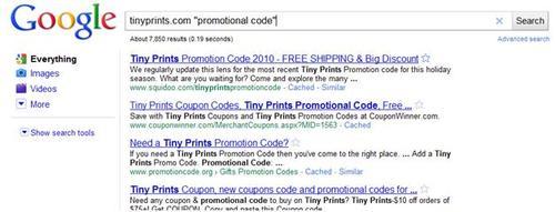 tinyprints search