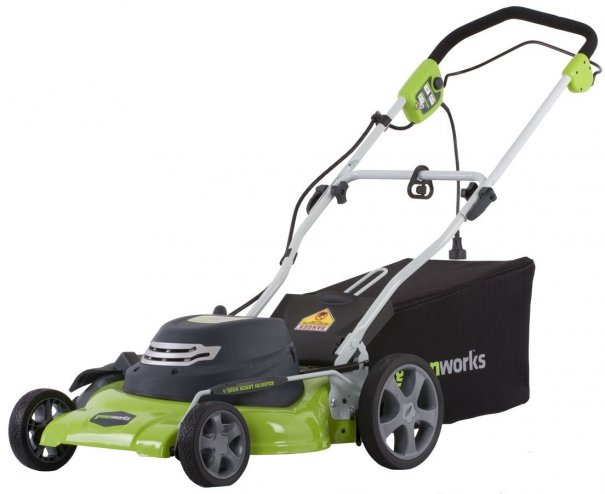 Stuff We Love A Lightweight Electric Lawn Mower