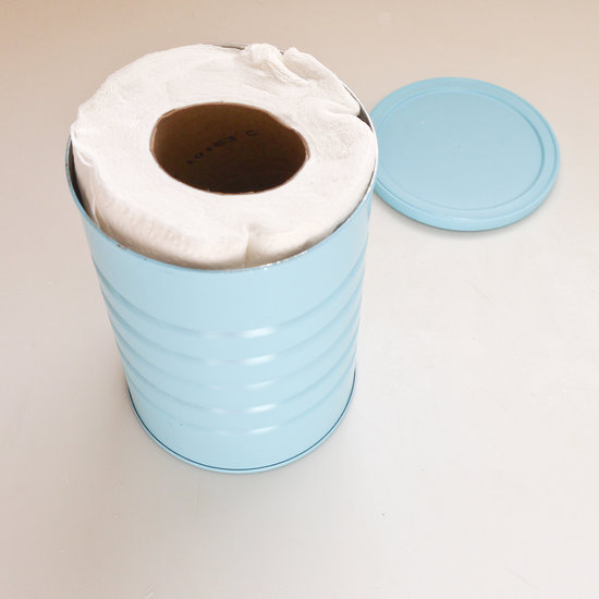 Towels in canister