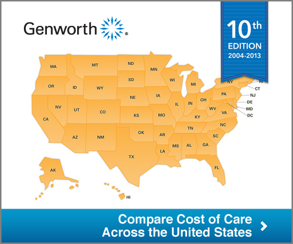 Cost of Care Map