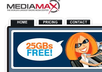 25GB of FREE online media storage
