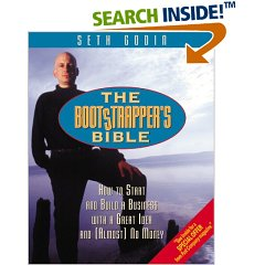 Seth Godwin's bootstrapper's bible book cover