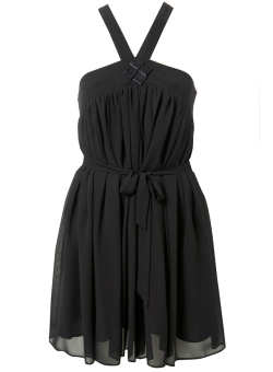 black miss selfridge party dress
