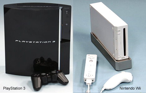 Nintendo Wii and Sony PS3