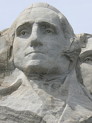 Washington at Rushmore