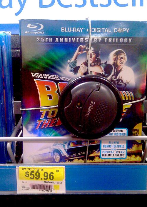DVD set on shelf