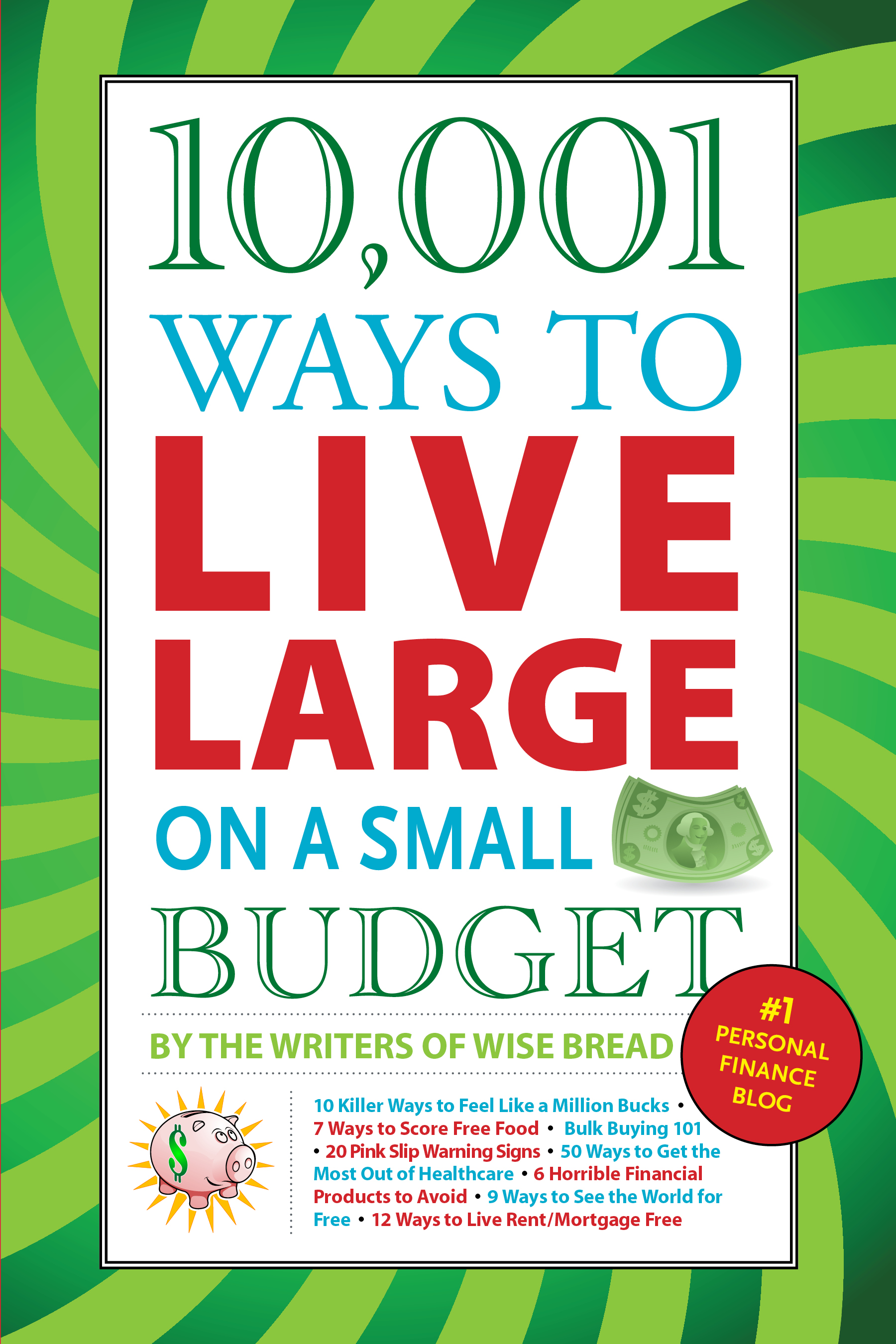 money saving book